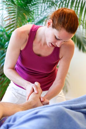 Sportmassage Fuss